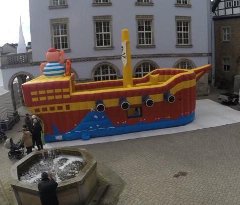 "Hüpfburg ""Piratenschiff"""