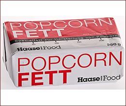 Popcorn Spezial Fett (250 g Riegel)